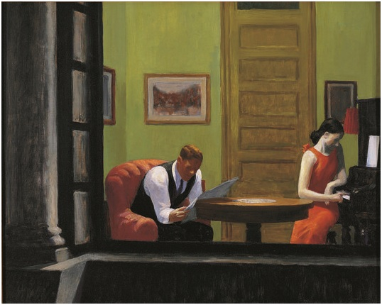 Room in New York Hopper