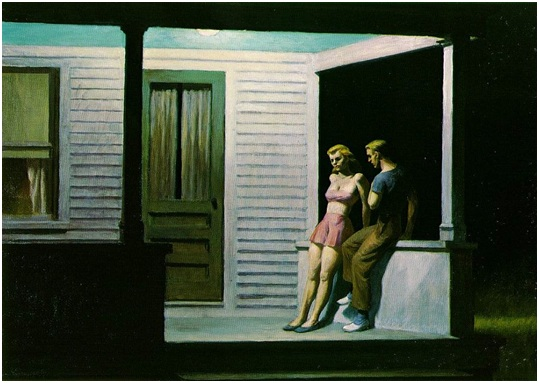 Summer Evening Hopper