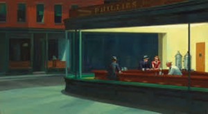 Edward Hopper Nighthawks, 1942