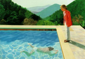David Hockney Portrait of an Artist (Pool with Two Figures), 1972